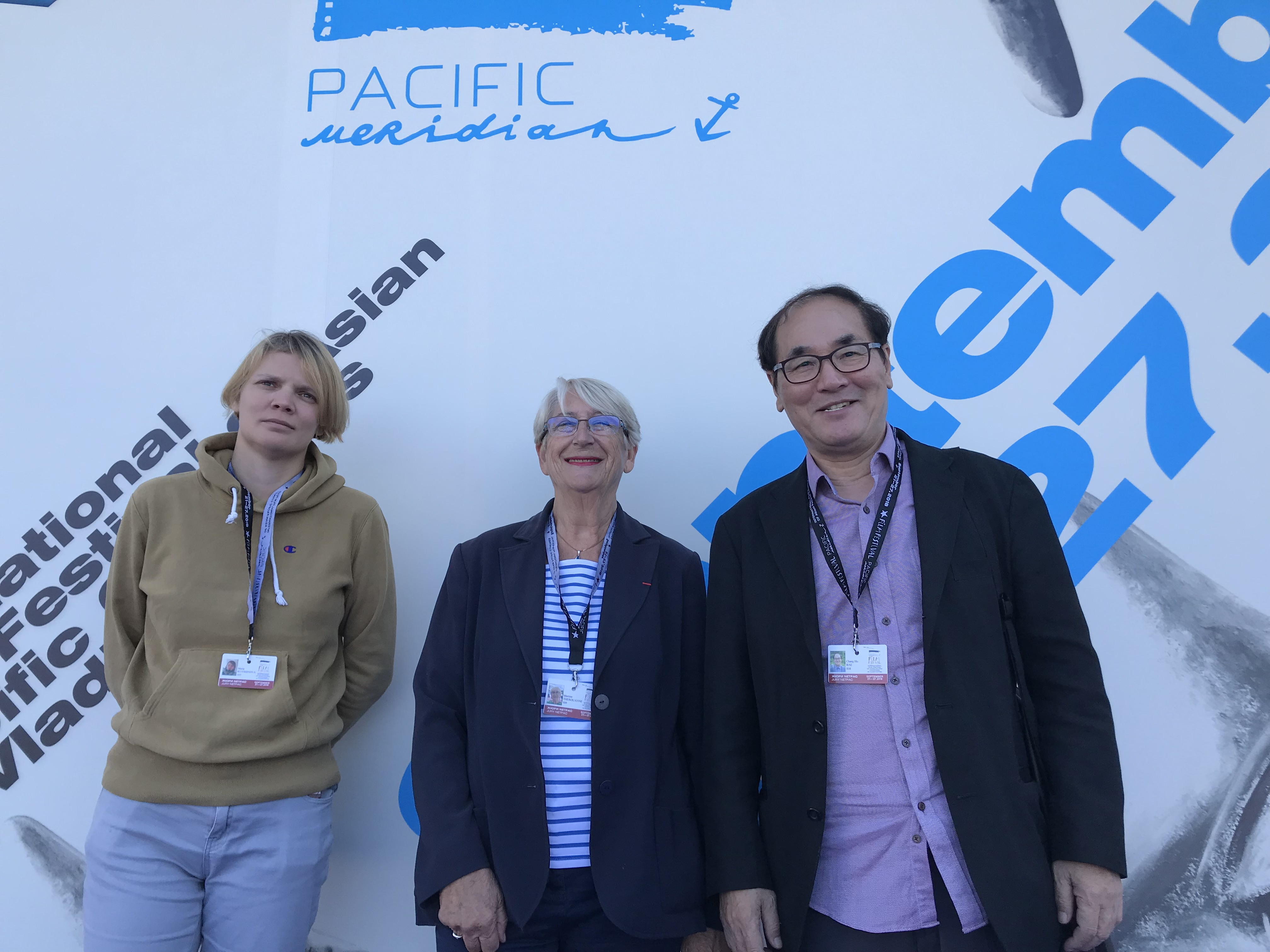 Netpac Jury at Vladivostok's 16th  Pacific Meridian International Film Festival of Asian Pacific Countries